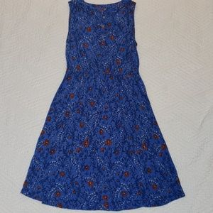 LOFT sleeveless floral dress
